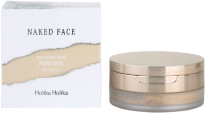 Holika Holika Naked Face base de pó 2