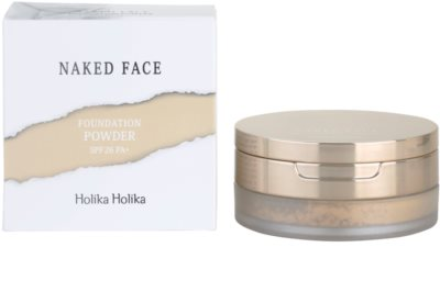 Holika Holika Naked Face pudrový make-up 2