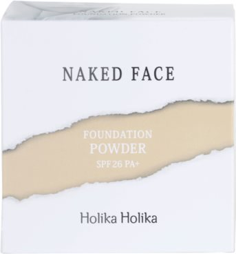 Holika Holika Naked Face base de pó 3