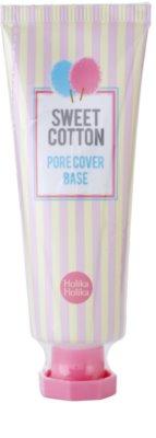 Holika Holika Sweet Cotton baza matifianta pentru acoperirea porilor