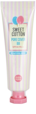 Holika Holika Sweet Cotton BB Cream pentru a minimaliza porii SPF 30