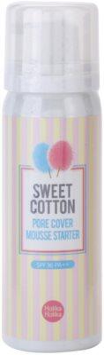 Holika Holika Sweet Cotton espuma para alisar la piel y minimizar los poros
