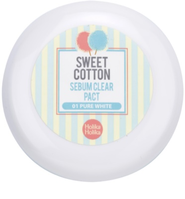 Holika Holika Sweet Cotton pó matificante 2