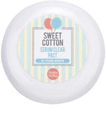 Holika Holika Sweet Cotton puder matujący 2