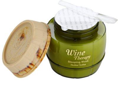 Holika Holika Wine Therapy noční hydratační maska 2