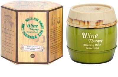 Holika Holika Wine Therapy noční hydratační maska 3