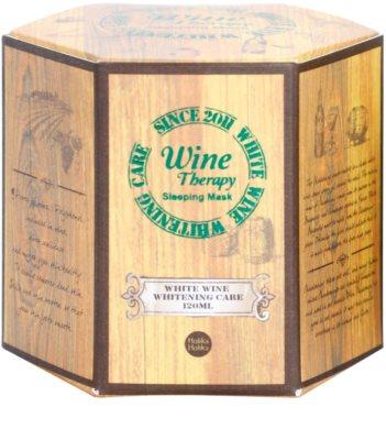 Holika Holika Wine Therapy noční hydratační maska 4