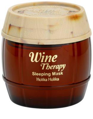Holika Holika Wine Therapy máscara de noite antirrugas
