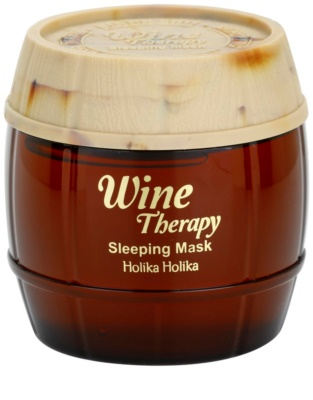 Holika Holika Wine Therapy maseczka na noc przeciw zmarszczkom