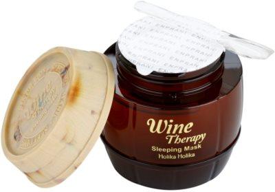 Holika Holika Wine Therapy noční maska proti vráskám 2
