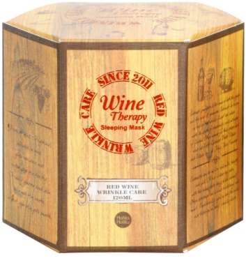 Holika Holika Wine Therapy noční maska proti vráskám 4