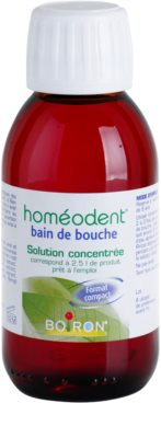 Homeodent Bain de Bouche enjuague bucal concentrado