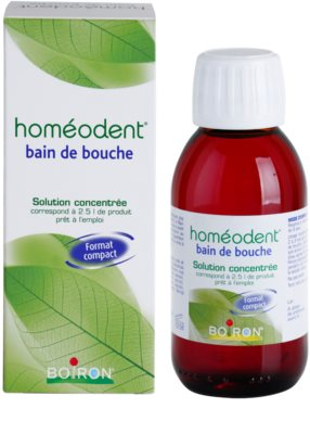 Homeodent Bain de Bouche enjuague bucal concentrado 1