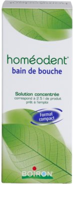 Homeodent Bain de Bouche enjuague bucal concentrado 3