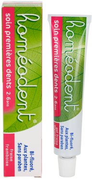Homeodent Firsts Teeth Care паста за зъби за деца 3