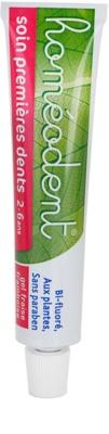 Homeodent Firsts Teeth Care pasta de dientes para niños