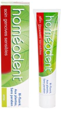 Homeodent Sensitive zubní pasta pro citlivé dásně 3