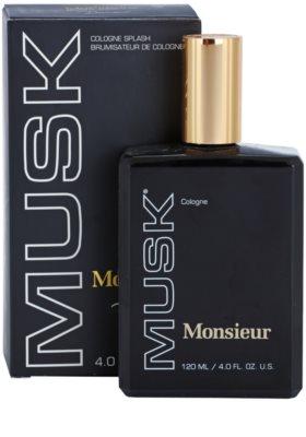 Houbigant Monsieur Musk colonia para hombre 1