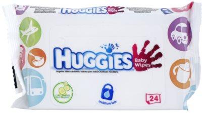 Huggies Baby Wipes нежни мокри кърпички за бебета