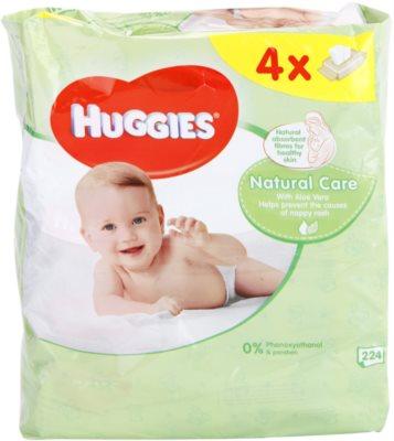 Huggies Natural Care Reinigungstücher mit Aloe Vera
