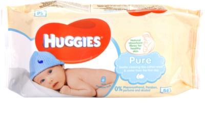 Huggies Pure toallitas limpiadoras para bebé lactante
