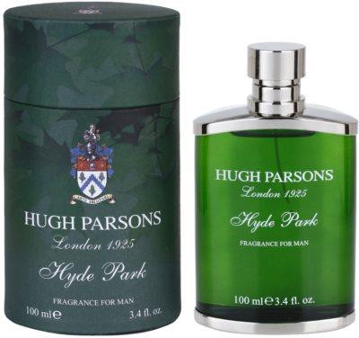Hugh Parsons Hyde Park Eau de Parfum para homens