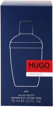 Hugo Boss Hugo Dark Blue Eau de Toilette para homens 4