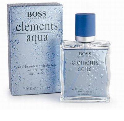 Hugo Boss Boss Elements Aqua eau de toilette férfiaknak
