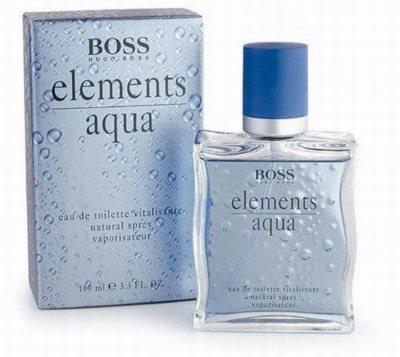 Hugo Boss Boss Elements Aqua Eau de Toilette pentru barbati