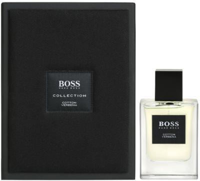 Hugo Boss Boss The Collection Cotton & Verbena Eau de Toilette pentru barbati