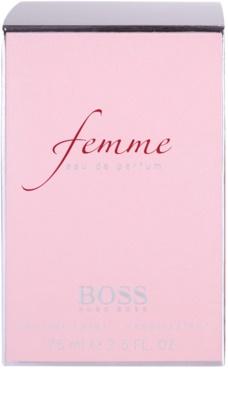Hugo Boss Femme Eau de Parfum para mulheres 4