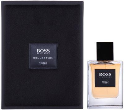Hugo Boss Boss The Collection Velvet & Amber Eau de Toilette pentru barbati