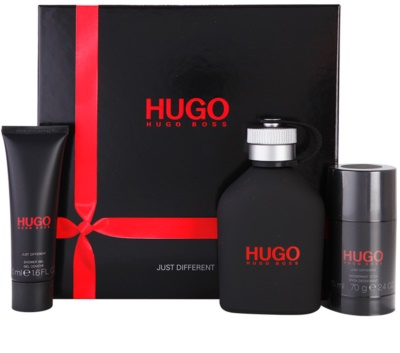 Hugo Boss Hugo Just Different coffret presente