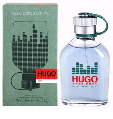 Hugo Boss Hugo Music Limited Edition eau de toilette férfiaknak