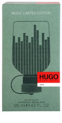 Hugo Boss Hugo Music Limited Edition Eau de Toilette für Herren 4
