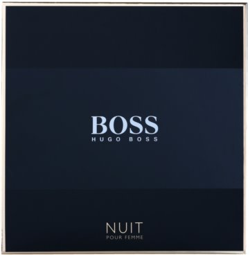 Hugo Boss Boss Nuit Pour Femme coffret presente 2