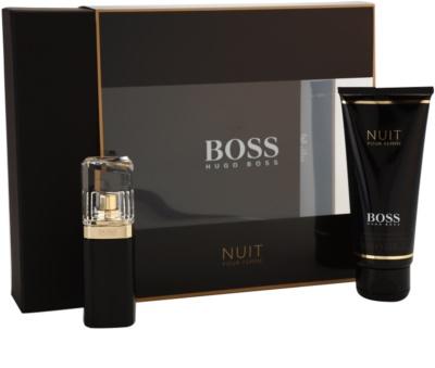 Hugo Boss Boss Nuit Pour Femme coffret presente