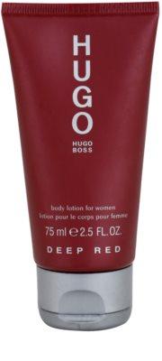 Hugo Boss Deep Red молочко для тіла для жінок