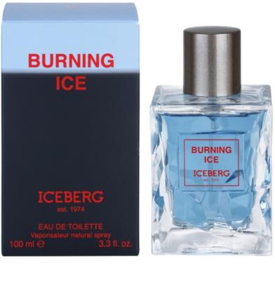 Iceberg Burning Ice toaletná voda pre mužov