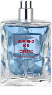 Iceberg Burning Ice eau de toilette teszter férfiaknak