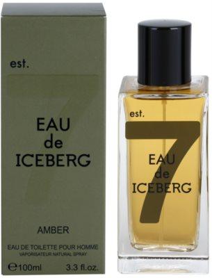 Iceberg Eau de Iceberg Amber eau de toilette férfiaknak