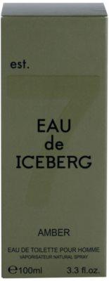 Iceberg Eau de Iceberg Amber Eau de Toilette pentru barbati 4