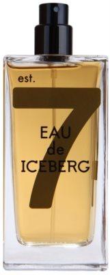 Iceberg Eau de Iceberg Amber eau de toilette teszter férfiaknak