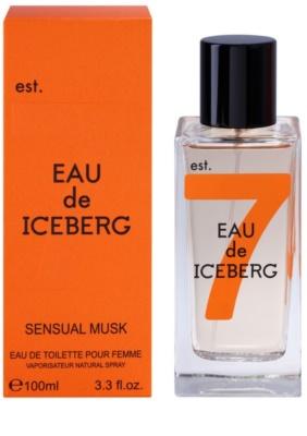 Iceberg Eau de Iceberg Sensual Musk Eau de Toilette para mulheres