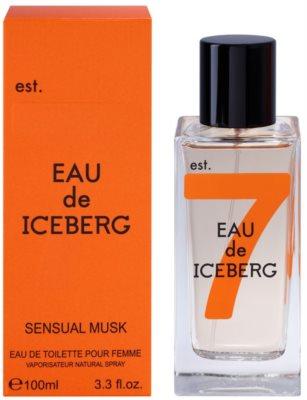 Iceberg Eau de Iceberg Sensual Musk Eau de Toilette pentru femei