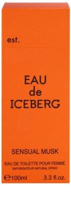 Iceberg Eau de Iceberg Sensual Musk туалетна вода для жінок 4