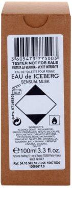 Iceberg Eau de Iceberg Sensual Musk toaletní voda tester pro ženy 1