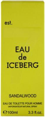 Iceberg Eau de Iceberg Sandalwood туалетна вода для чоловіків 4