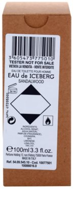 Iceberg Eau de Iceberg Sandalwood toaletní voda tester pro muže 1