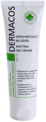 Ideepharm Dermacos Combination Oily Acne Skin matirajoča dnevna krema SPF 15